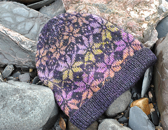 Norwegian Star Hat In Stranded Knitting