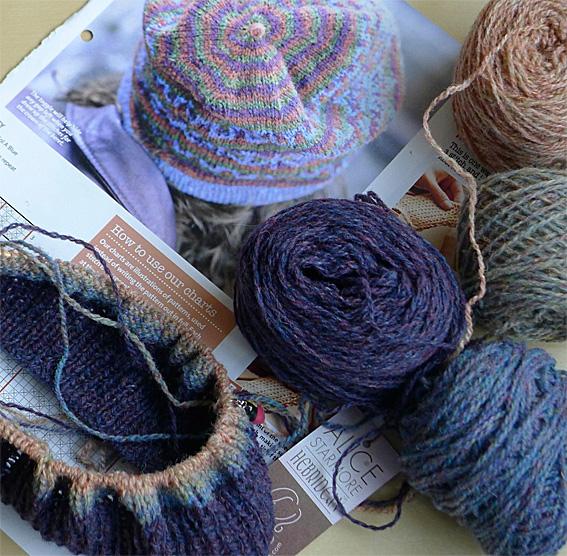 Slouchy Fair Isle Hat