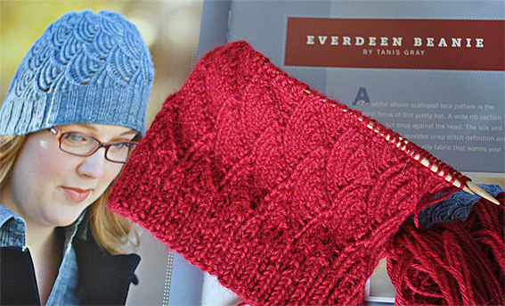 Knitting Patterns Using Alpaca Yarn : Everdeen Beanie using Alpaca - Knitting Squirrel