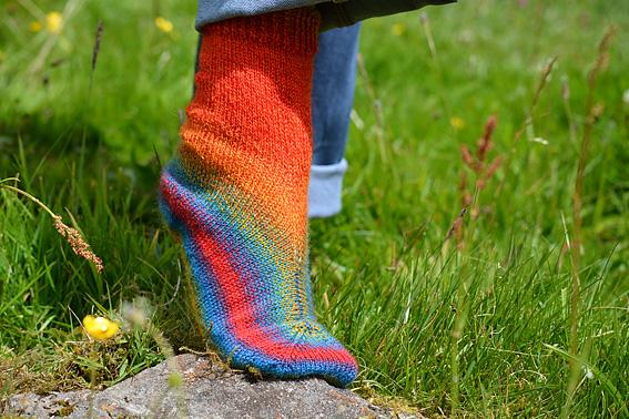 Little Fox Solefull Socks Heel