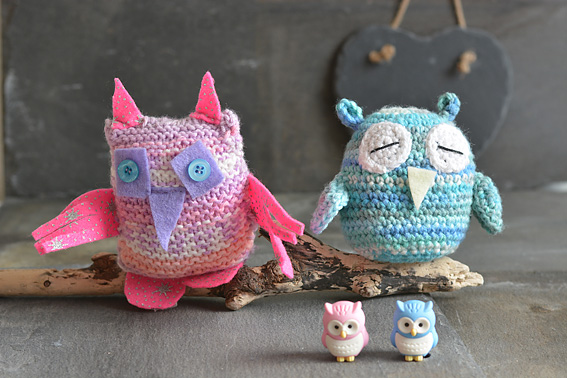 Learning to Crochet Owly Christmas