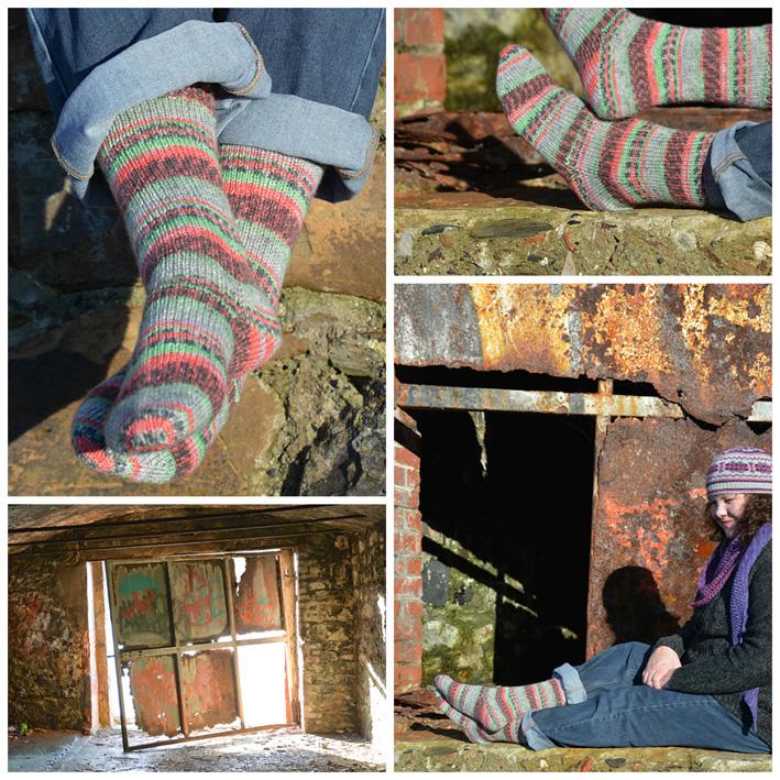 Daydream Inspiration Socks