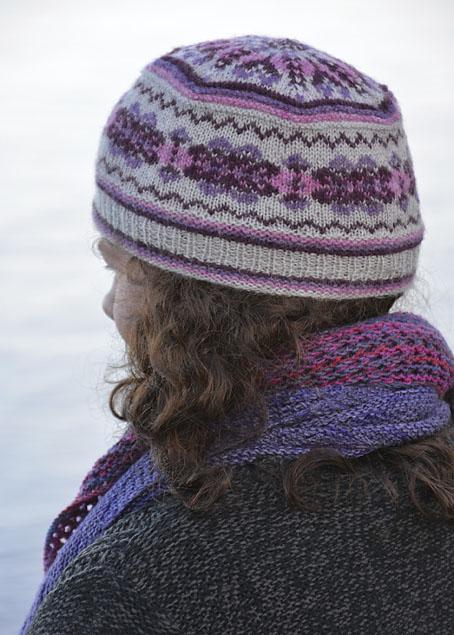 Fair Isle Acht Hat