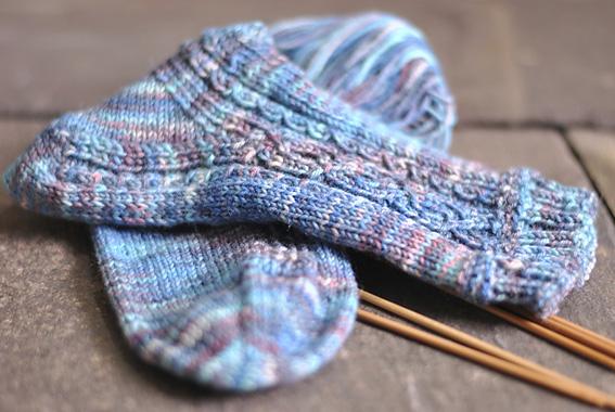 I Love Gansey Socks