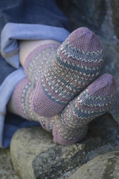 Wood Pigeon Socks
