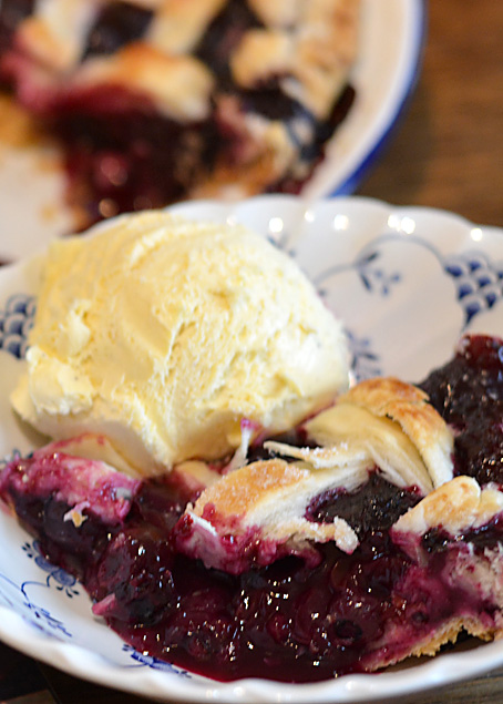 The Blueberry Pie Recipe