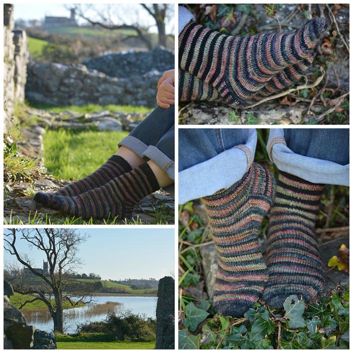 Lang Striped Socks 1