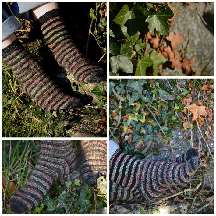 Lang Striped Socks 2