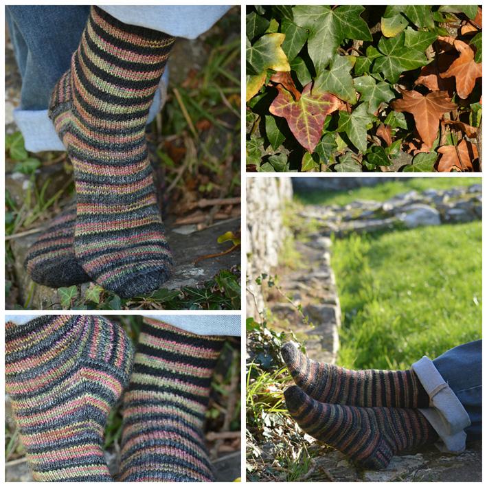 Lang Striped Socks 3