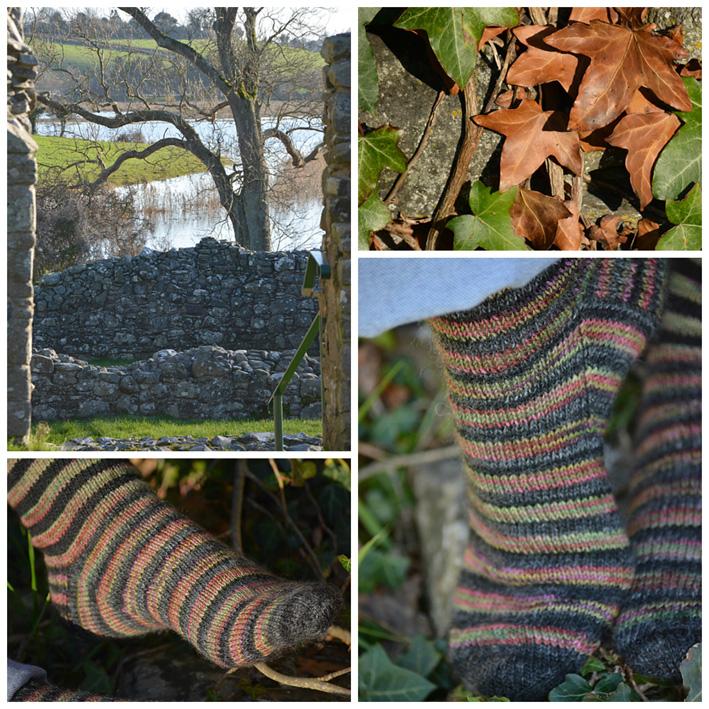 Lang Striped Socks 4