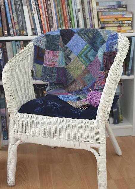 Mitred Square Blanket 3
