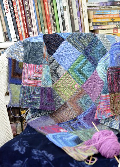Mitred Square Blanket 5
