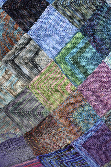 Mitred Square Blanket 7