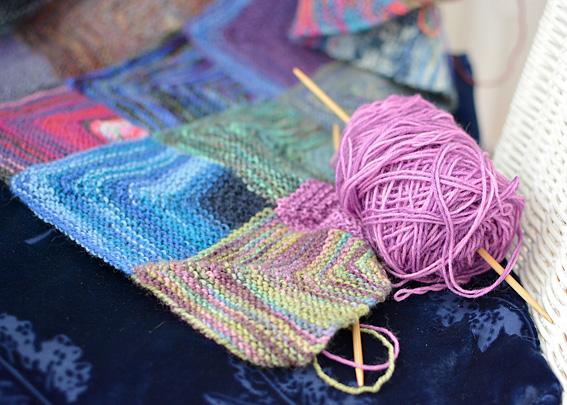 Mitred Square Blanket 9
