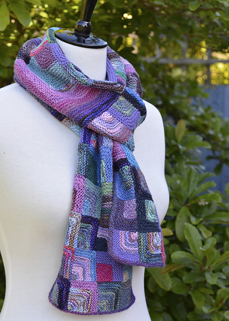 Mitred Square Scarf 1