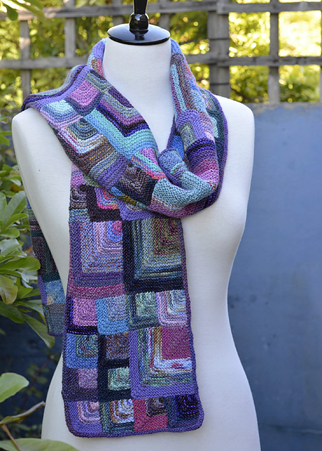 Mitred Square Scarf 11