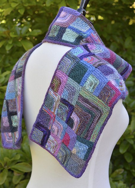 Mitred Square Scarf 13