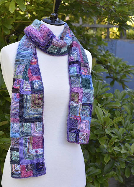 Mitred Square Scarf 5