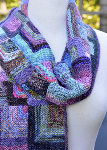 Mitred Square Scarf 9