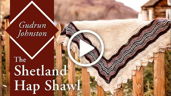 Shetland Hap Shawl Class