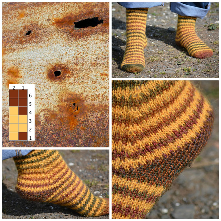 Broken Stripes Socks