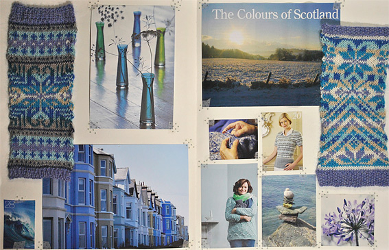 Moodboard - Colours of Scotland