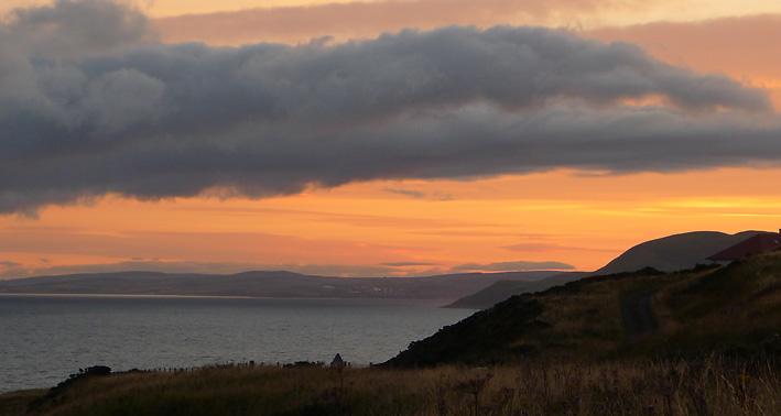Sunrise in South Ayrshire