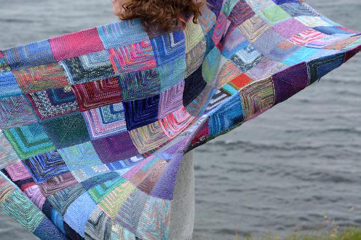 Mitred Squares Blanket Mavis Grind