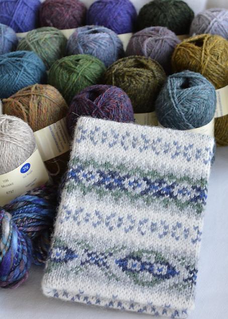 New Shetland Wool Stash