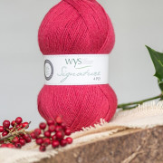 WYS Signature 4ply Christmas Special Cherry Drop 529