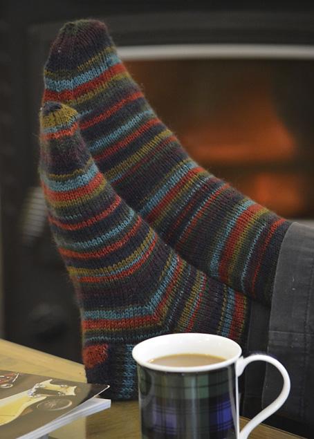 Kaffe Fassett Socks Shadow Stripe 3871