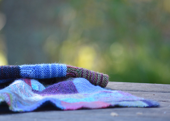 Mitred Squares Blanket Pt3 1