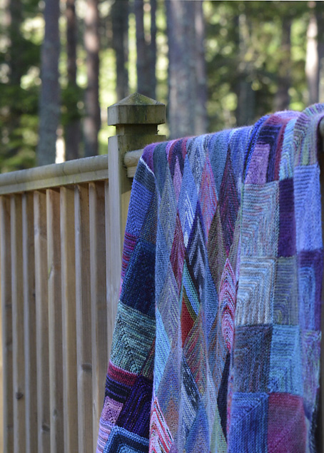 Mitred Squares Blanket Pt3 4