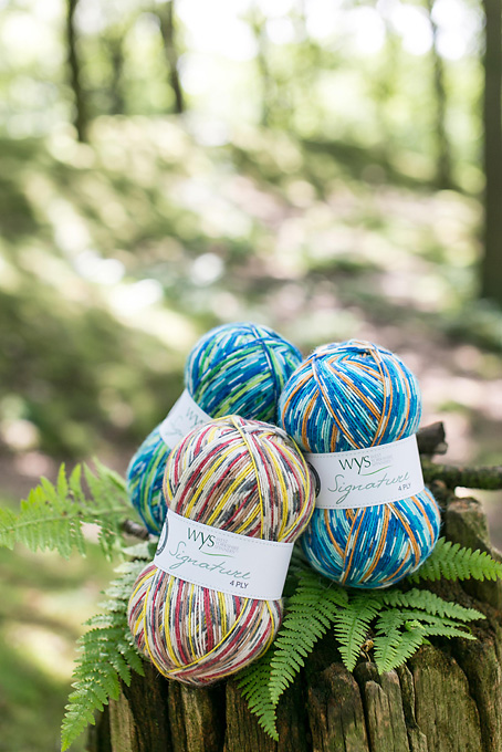 New WYS Signature 4 ply Country Birds
