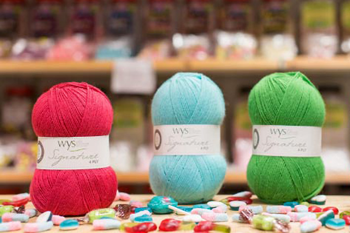 New WYS Signature 4 ply Sweet Shop colours