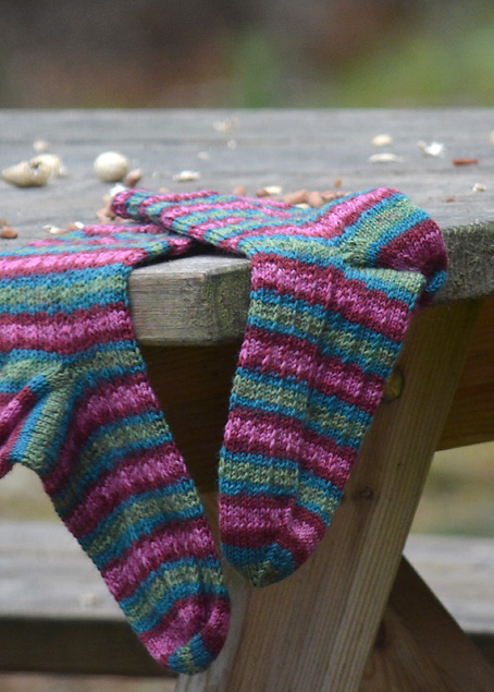 Red Squirrel and Hang Knit Socks 10