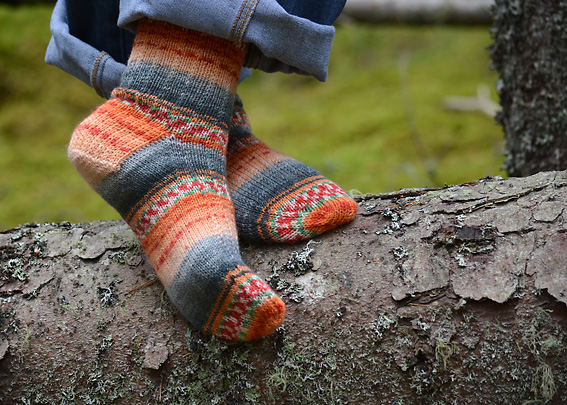 Sweet and Spicy Socks 6