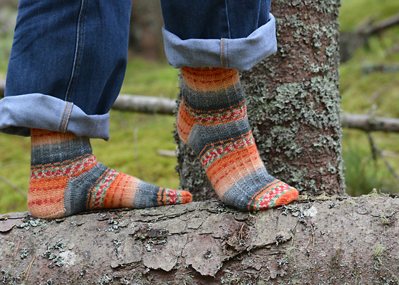Sweet and Spicy Socks 8