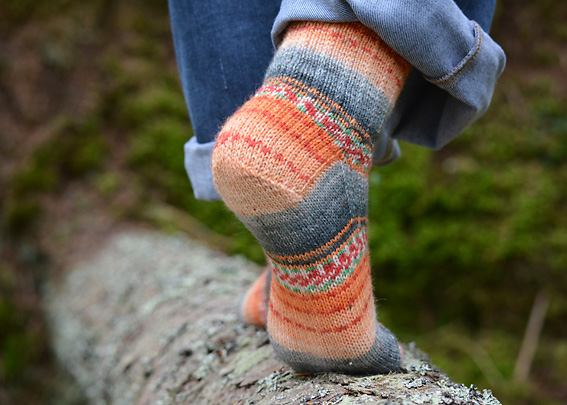 Sweet and Spicy Socks 9