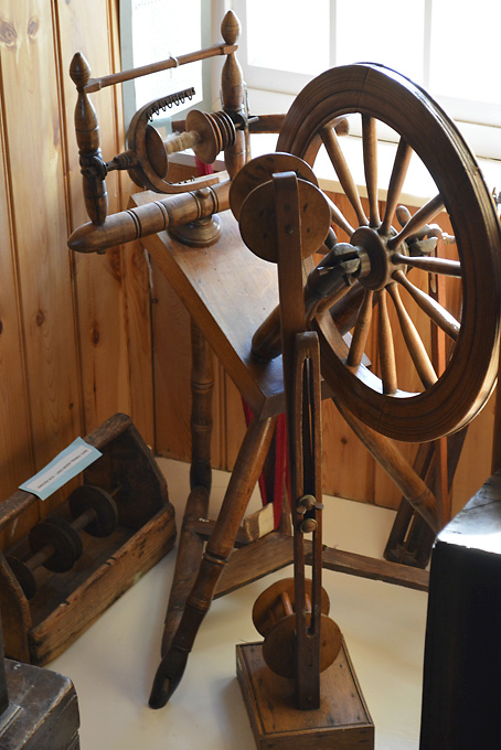 Tangwick Haa Spinning Wheel