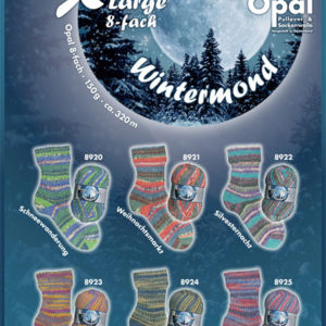 Opal Winter Moon 8 ply Sock Yarn