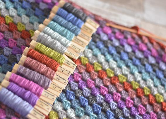 Cashmerino Crochet Throw 4
