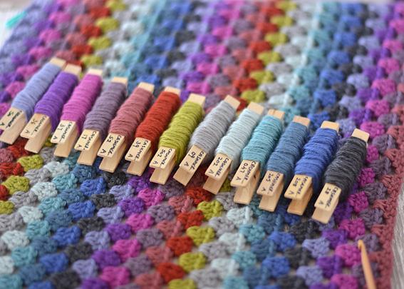 Cashmerino Crochet Throw 5