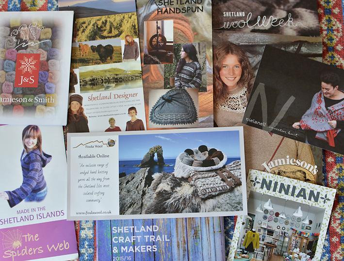 Knitting-Collage-Shetland