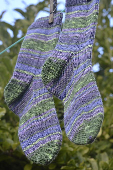 Rainforest Socks 1