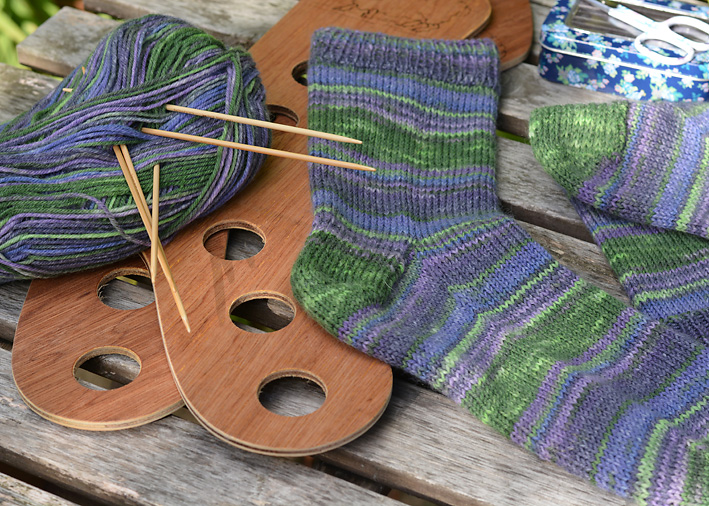 Rainforest Socks 4