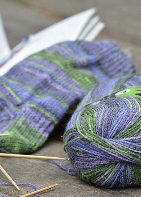 Rainforest Socks 9