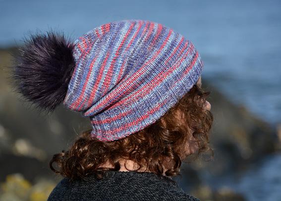 Opal Winter Moon Hat