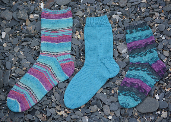 Basic Sock Pattern To Fit Shoe Sizes Uk 2 To 6 Eu 35 To 39 And Us