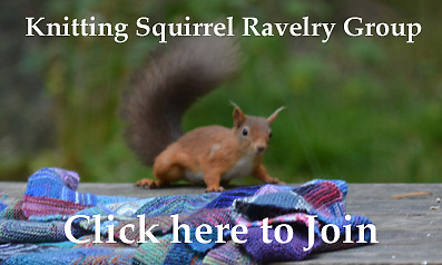 Knitting Squirrel Ravelry Group